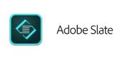 Adobe Slate logo